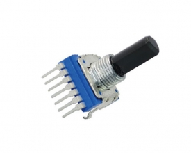 WH142A-1 L17.5F12 potentiometer with plastic shaft