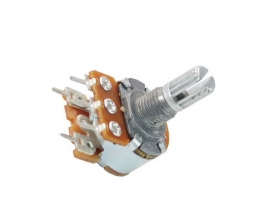 WH148-1AK-2 L15 18T rotary potentiometer with switch
