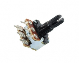WH148-1B-2P L15 18T 16mm rotary potentiometer with plastic shaft